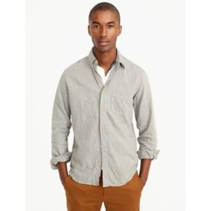 J Crew Slim Brushed Flannel Button Shirt